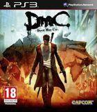 Portada oficial de de DmC para PS3