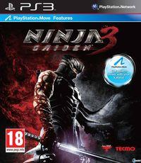 Portada oficial de Ninja Gaiden 3 para PS3