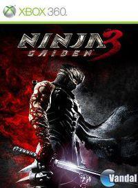 Portada oficial de Ninja Gaiden 3 para Xbox 360