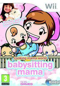 Portada oficial de Cooking Mama World: Babysitting Mama para Wii