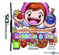 Portada oficial de Cooking Mama World: Hobbies & Fun para NDS