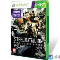 Portada oficial de Steel Battalion: Heavy Armor para Xbox 360