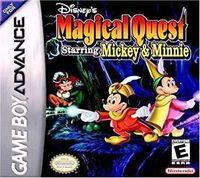 Portada oficial de Disney Magical Quest para Game Boy Advance
