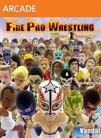 Portada oficial de Fire Pro Wrestling para Xbox 360