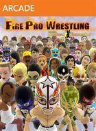 Portada oficial de de Fire Pro Wrestling para Xbox 360