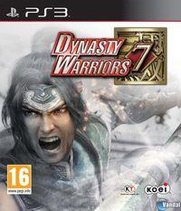 Portada oficial de Dynasty Warriors 7 para PS3