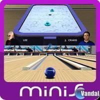 Portada oficial de Arcade Sports: Bowling & Air Hockey Mini para PSP