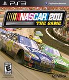 Portada oficial de de NASCAR 2011 para PS3