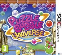 Portada oficial de Puzzle Bobble Universe para Nintendo 3DS