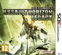 Portada oficial de Ace Combat Assault Horizon Legacy para Nintendo 3DS
