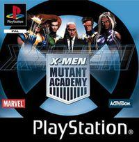 Portada oficial de X-Men: Mutant Academy para PS One