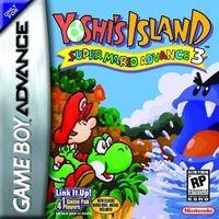 Portada oficial de Super Mario Advance 3: Yoshi Island para Game Boy Advance
