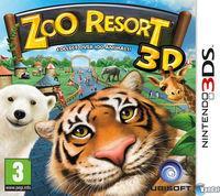 Portada oficial de Zoo Resort 3D para Nintendo 3DS