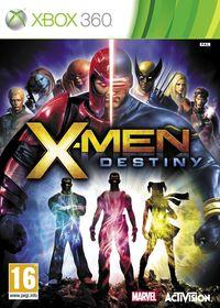Portada oficial de X-Men: Destiny para Xbox 360