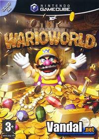 Portada oficial de Wario World para GameCube