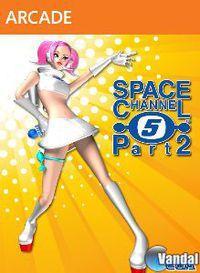 Portada oficial de Space Channel 5 Part 2 XBLA para Xbox 360