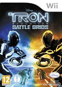 Portada oficial de Tron: Evolution: Battle Grids para Wii
