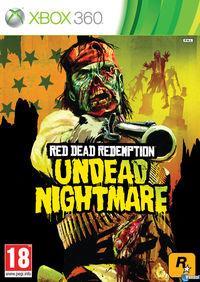 Portada oficial de Red Dead Redemption: Undead Nightmare para Xbox 360