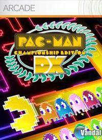 Portada oficial de Pac-Man Championship Edition DX XBLA para Xbox 360