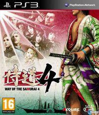 Portada oficial de Way of the Samurai 4 para PS3