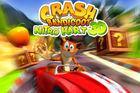 Portada oficial de de Crash Bandicoot Nitro Kart 3D para iPhone