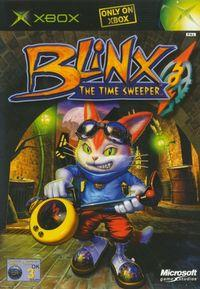 Portada oficial de Blinx: The Time Sweeper para Xbox