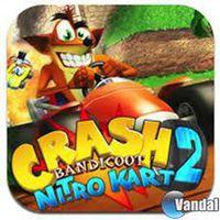 Portada oficial de Crash Bandicoot Nitro Kart 2 para iPhone