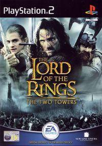 Portada oficial de El Señor de los Anillos: Las Dos Torres para PS2