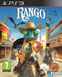 Portada oficial de Rango The Video Game para PS3