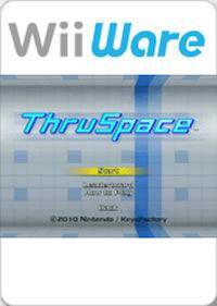 Portada oficial de ThruSpace: Puzle 3D a alta velocidad WiiW para Wii