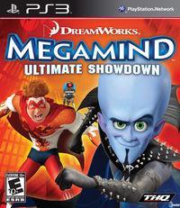 Portada oficial de Megamind para PS3