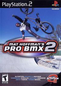 Portada oficial de Matt Hoffman's Pro BMX 2 para PS2