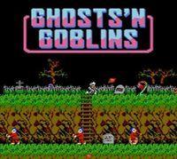 Portada oficial de Ghosts 'n Goblins Arcade CV para Wii