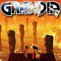 Portada oficial de Grandia PSN para PSP