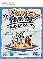 Portada oficial de de The Fancy Pants Adventures XBLA para Xbox 360