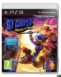 Portada oficial de Sly Cooper: Ladrones en el tiempo para PS3