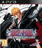Portada oficial de de Bleach: Soul Resurrección para PS3