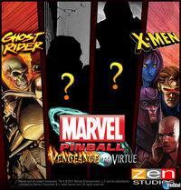 Portada oficial de Marvel Pinball PSN para PS3