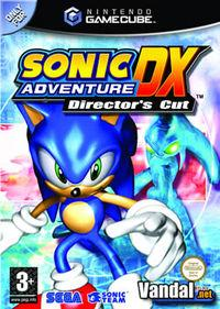 Portada oficial de Sonic Adventure DX Director's Cut para GameCube