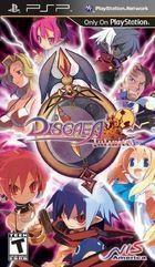 Portada oficial de de Disgaea Infinite PSN para PSP