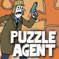 Portada oficial de Puzzle Agent PSN para PS3