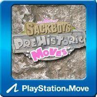 Portada oficial de Sackboy's Prehistoric Moves PSN para PS3
