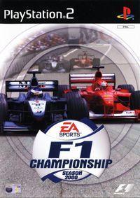 Portada oficial de F1 Championship Season 2000 para PS2