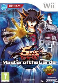 Portada oficial de Yu-Gi-Oh! 5Ds Master of the Cards para Wii