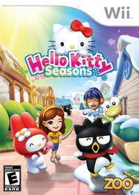 Portada oficial de Hello Kitty Seasons para Wii