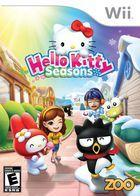 Portada oficial de de Hello Kitty Seasons para Wii