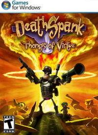 Portada oficial de DeathSpank: Thongs of Virtue  para PC