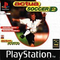 Portada oficial de Actua Soccer 2 para PS One