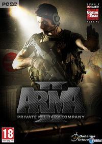 Portada oficial de ArmA II Private Military Company para PC