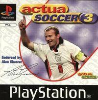 Portada oficial de Actua Soccer 3 para PS One